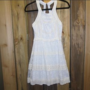 American Eagle Outfitters pretty white dress
